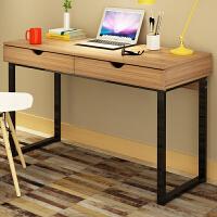 亿家达 简约现代简易笔记本电脑桌 台式家用小桌子办公桌写字台简易书桌