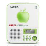 【当当自营】 熊猫(PANDA) F-327语言复读机插卡MP3播放器u盘播放机(绿色)