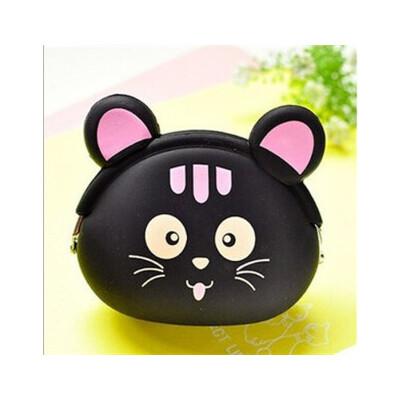 【勤得利笔袋/文具袋】韩版糖果色可爱动物 硬币包 袋