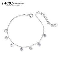 【新品】T400 西元的爱S925银手链 手链女韩版 个性简约甜美首饰品 生日礼物 3686