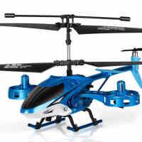 勾勾手耐摔遥控飞机无人直升机充电动摇控合金航模型悬浮 儿童玩具