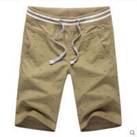 韩版运动时尚七分裤    青少年学生休闲短裤直筒裤 裤子  男装潮