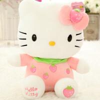 hello kitty公仔玩偶 凯蒂猫KT猫毛绒玩具娃娃儿童生日礼物女