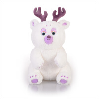 熊出没 毛绒玩具 14寸雪熊 雪岭熊风电影版 雪熊毛绒玩具