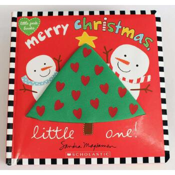 MERRY CHRISTMAS, LITTLE ONE! (BOARD BOOK)