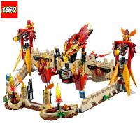 乐高拼装积木气功传奇系列烈焰凤凰飞天神殿战斗机L70146儿童玩具