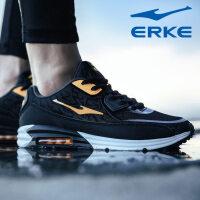 鸿星尔克 气垫鞋新款男鞋减震运动鞋AIR MAX气垫荧光夜跑步鞋
