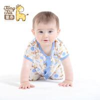 童泰 迪士尼宝宝婴儿连体衣纯棉宝宝哈衣短款儿童爬服婴儿衣服夏