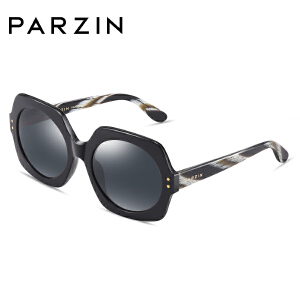 帕森太阳镜女宋佳明星同款复古板材偏光驾驶镜女大框修脸潮墨镜9740