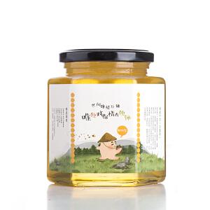 【辉南馆】东北长白山特产椴树蜜蜂蜜农家自产结晶蜜500g