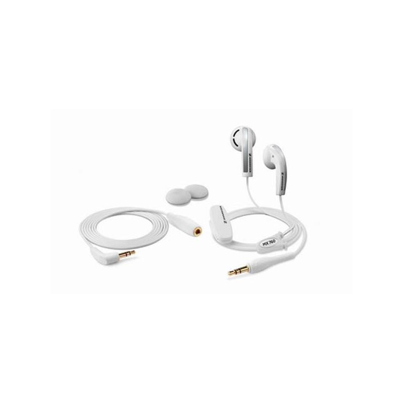 森海塞尔 mx760 耳塞式耳机 白色