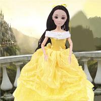 芭比娃娃套装礼盒儿童玩具女孩洋娃娃仿真娃娃讲故事古装长发公主