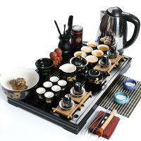 尚帝 陶瓷茶具套装 马到成功茶盘-茶具电水壶套装XMBH2014-013A1
