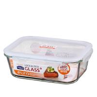 乐扣乐扣微波炉烤箱耐热玻璃保鲜盒2L便当盒LLG455