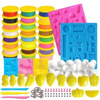 轻粘土24色套装安全无毒3D彩泥沙儿童橡皮泥太空泥玩具