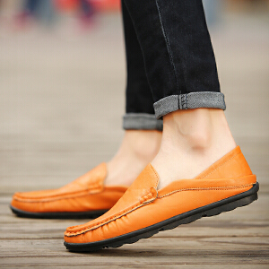 豆豆鞋英伦风休闲鞋柔软舒适驾车鞋【1鞋2穿】