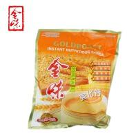 新加坡味驰集团 金味麦片(强化钙)600g 袋装 营养燕麦片早餐 即食冲饮 冲调麦片