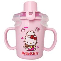 【当当自营】【韩国进口】乐扣乐扣 HELLO KITTY 婴幼儿不锈钢内胆吸管杯(粉色)LKT478