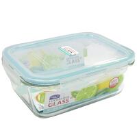 乐扣乐扣格拉斯耐热玻璃保鲜盒子饭盒LLG447E(1130ml)