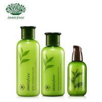 Innisfree/悦诗风吟 绿茶精萃平衡保湿水乳套装+小绿瓶精华液