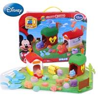 迪士尼3D打印泥动物世界彩泥模具套装 轻粘土儿童橡皮泥不过 .