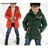 男童外套 棉服  加厚保暖棉衣 童装男童棉衣新款儿童中大童保暖加厚棉服外套潮