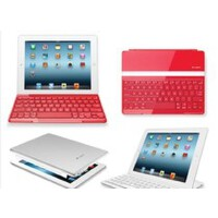 Logitech/罗技 超薄键盘盖 无线蓝牙 红色 适用new iPad3/iPad2/4 全国联保 全新盒装正品