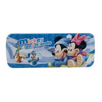 迪士尼笔盒米奇笔盒文具盒米妮铁笔盒DM0939-2 双层