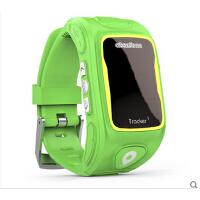 阿巴町儿童智能定位手表可插卡通话GPS手环电话 蓝牙防水防丢器