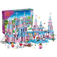 【当当自营】邦宝益智拼装积木小颗粒儿童女孩玩具建筑礼物 月光城堡8363