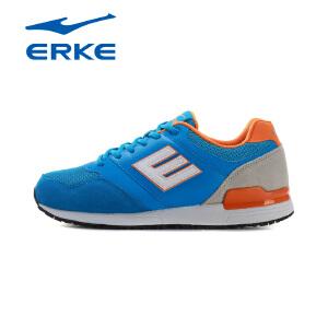 鸿星尔克男鞋 erke男跑步鞋 新品耐磨减震男跑步鞋潮流E字鞋
