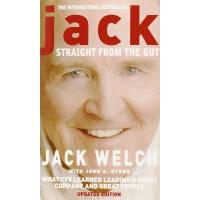 英文原版Jack: Straight from the Gut杰克・韦尔奇自传(钻石版)