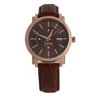 埃斯普利特(ESPRIT)美国品牌联保女士镶钻时尚石英表 EL101912F06