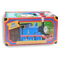 Thomas Story Library 托马斯和他的朋友们全集小火车托马斯经典故事集(40本)双铜版纸彩色印刷