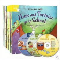 培生幼儿英语 基础级 全套42册启蒙教材 3-6岁儿童英语绘本 英文绘本 附赠3张CD 启蒙光盘 少幼儿儿童英语教材故事书认知