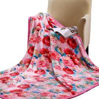 富安娜家纺双层法兰绒毯保暖毛毯毯子午休毯盖毯仙境物语