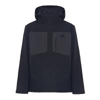 The North Face乐斯菲斯 专柜同款男子Hyvent防水冬季三合一冲锋衣C971KT0