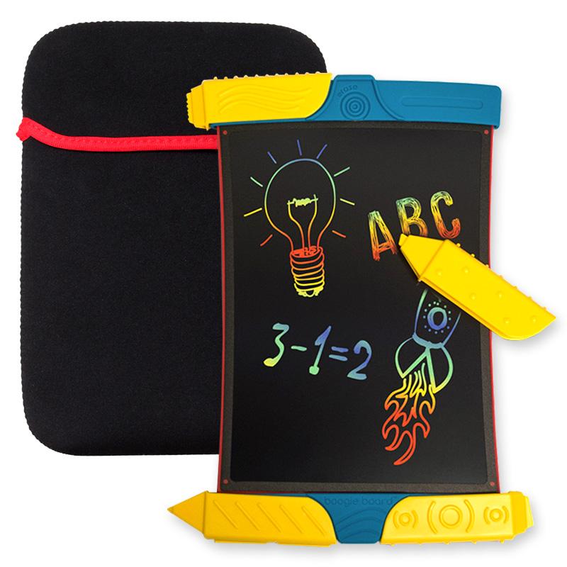 美国boogieboard儿童电子手绘板scribble手写板液晶彩虹小黑板画板