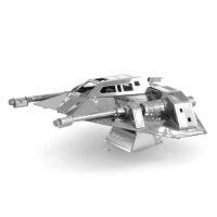 爱拼 金属 DIY拼装模型 3D免胶纳米立体拼图 星球大战 雪地飞车