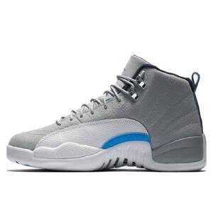 耐克 Nike Air Jordan 12 aj12 乔12北卡狼灰蓝130690-007