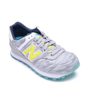 New Balance 女士574系列复古跑步鞋WL574SIA 支持礼品卡支付