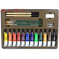 法国pebeo贝碧欧 丙烯创意颜料铁盒装套装 写生须备