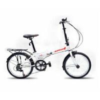 折叠自行车折叠车变速车学生男女款monloup欧狼折叠车自由人2.016寸精致快捷时尚