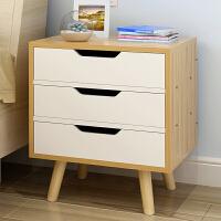 亿家达 床头柜简约现代小柜子储物柜带抽屉简约卧室储物柜床边柜子储藏柜
