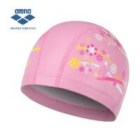 arena阿瑞娜 舒适双材质游泳帽 透气印花多色泳帽