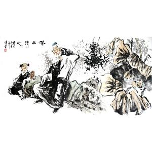 中国美术家协会会员  国家一级美术师  于传宝《茶品清新》