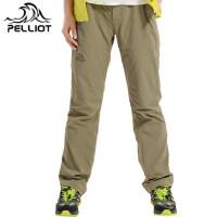 法国PELLIOT速干裤女 正品防晒透气弹力徒步户外登山裤快干裤长裤