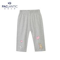 派克兰帝品牌童装  夏装女童可爱七分打底裤 儿童打底裤