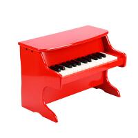 游戏大陆益智早旋律音律25键小钢琴宝宝早教音乐木质儿童乐器玩具