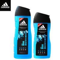 Adidas/阿迪达斯 男士沐浴露套装冰点沐浴露400ml+250ml
